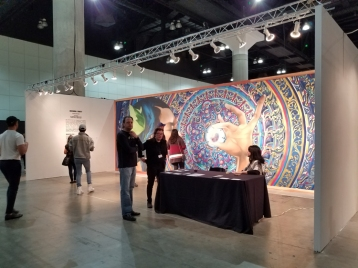 LA Art Show 2018. Los Angeles Convention Center. Photo Credit Kristine Schomaker