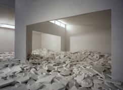 David DiMichele, Broken Plaster, 2011, pigment print. Photo Courtesy DENK Gallery.
