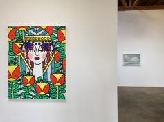 Helen Rebekah Garber and Ichiro Irie at DENK Gallery. Photo Credit Shana Nys Dambrot.