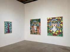 Helen Rebekah Garber at DENK Gallery. Photo Credit Shana Nys Dambrot.