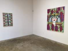 Helen Rebekah Garber at DENK Gallery. Photo Credit Shana Nys Dambrot.