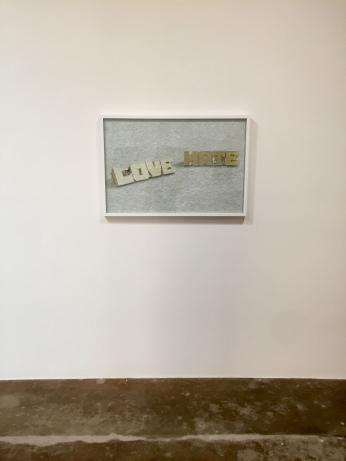 Ichiro Irie at DENK Gallery. Photo Credit Shana Nys Dambrot.