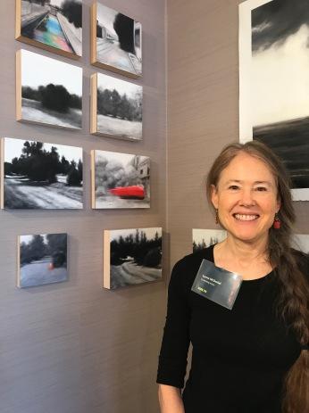Lynne McDaniel. StART Up Art Fair at The Kinney; Photo Credit Genie Davis