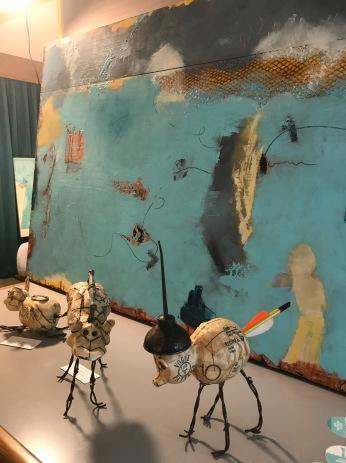 Leslie Morgan. StART Up Art Fair at The Kinney; Photo Credit Genie Davis