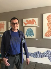 Philippe Jestin. StART Up Art Fair at The Kinney; Photo Credit Genie Davis