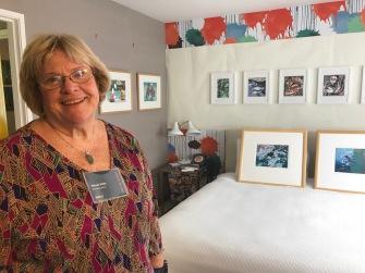 Wendy Willis. StART Up Art Fair at The Kinney; Photo Credit Genie Davis