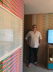 Mikey Kelly. StART Up Art Fair at The Kinney; Photo Credit Genie Davis