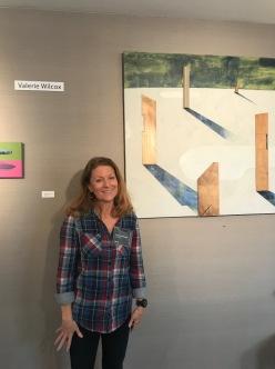 Valerie Wilcox. StART Up Art Fair at The Kinney; Photo Credit Genie Davis