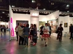 K Contemporary. LA Art Show 2018. Los Angeles Convention Center. Photo Credit Kristine Schomaker