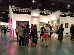 K Contemporary. LA Art Show 2018. Los Angeles Convention Center. Photo Credit Kristine Schomaker