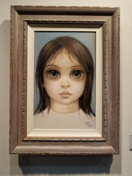 Margaret Keane. LA Art Show 2018. Los Angeles Convention Center. Photo Credit Kristine Schomaker