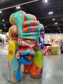 Love Armada. LA Art Show 2018. Los Angeles Convention Center. Photo Credit Kristine Schomaker