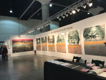 LA Art Show 2018. LA Convention Center. Photo Credit Genie Davis