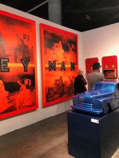 LA Art Show 2018. LA Convention Center. Photo Credit Genie Davis