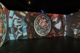 Jose Clemente Orozco. LA Art Show 2018. LA Convention Center. Photo Credit Jack Burke