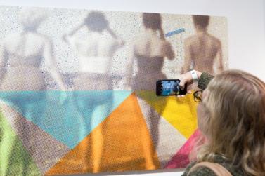 LA Art Show 2018. LA Convention Center. Photo Credit Jack Burke