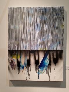 Nano Rubio. LA Art Show 2018. Los Angeles Convention Center. Photo Credit Kristine Schomaker