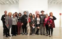 Artist as Scientist, Claremont Graduate University Art Building; Photo Credit: Jill Carol