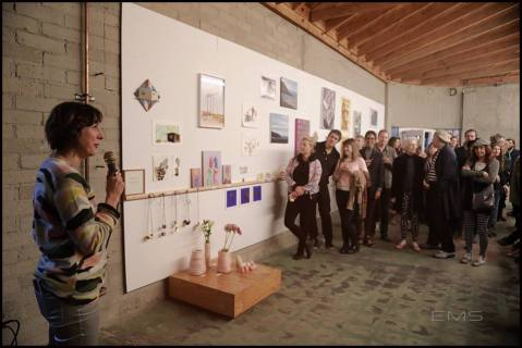 Curatorial HUB launch party at Bestor Architecture; Photo credit Eric Mihn Swenson