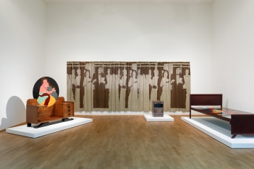 Beatriz Gonzalez, Raumansicht, A Tale of Two Worlds, Museum für Moderne Kunst, Frankfurt, Germany; Image courtesy of the museum