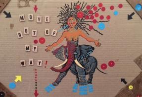 Bibi Davidson. Feminism Now. Shoebox Projects. Image courtesy of the artist