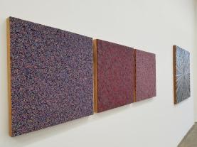 RHEBIS, Robert Walker Retrospective at Jason Vass Gallery; Photo Credit Kristine Schomaker