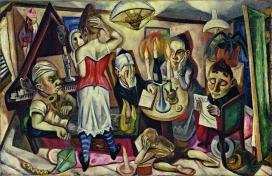 Max Beckmann: Family picture, 1920, The Museum of Modern Art, New York, gift Abby Adrich Rockefeller, 1935, © VG Bild-Kunst, Bonn 2018, Photo: Scala, Florence/The Museum of Modern Art