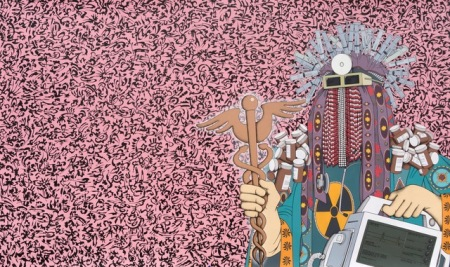 Pepto-Punk Angel by Mark Steven Greenfield; Image courtesy of the artist