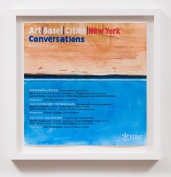 Art Basel Cities New York Conversations (2025), William Powhida, After 'After the Contemporary'; Image courtesy of Charlie James Gallery