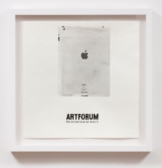 iPad Artforum (2010), William Powhida, After 'After the Contemporary'; Image courtesy of Charlie James Gallery