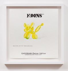 Koons TM Gagosian _ Zwirner Edition(2025), William Powhida, After 'After the Contemporary'; Image courtesy of Charlie James Gallery