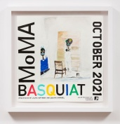 MoMA Basquiat (2021), William Powhida, After 'After the Contemporary'; Image courtesy of Charlie James Gallery