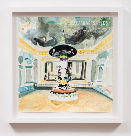 Murakami Versailles (2010), William Powhida, After 'After the Contemporary'; Image courtesy of Charlie James Gallery