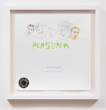 Persona (2004), William Powhida, After 'After the Contemporary'; Image courtesy of Charlie James Gallery