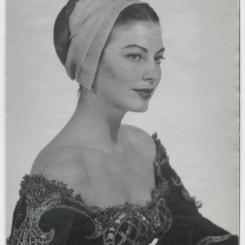 MAN RAY, Ava Gardner in costume for Albert Lewin's 'Pandora and the Flying Dutchman', 1950; © Man Ray Trust/Artists Rights Society (ARS)/ADAGP, Paris 2018. Image courtesy of Gagosian Gallery
