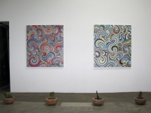RHEBIS, Robert Walker Retrospective at Jason Vass Gallery; Photo Credit Patrick Quinn