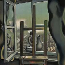 Wolfgang Mattheuer: The Gray Window, 1969, Museum Barberini, © VG BILD-KUNST, Bonn 2018