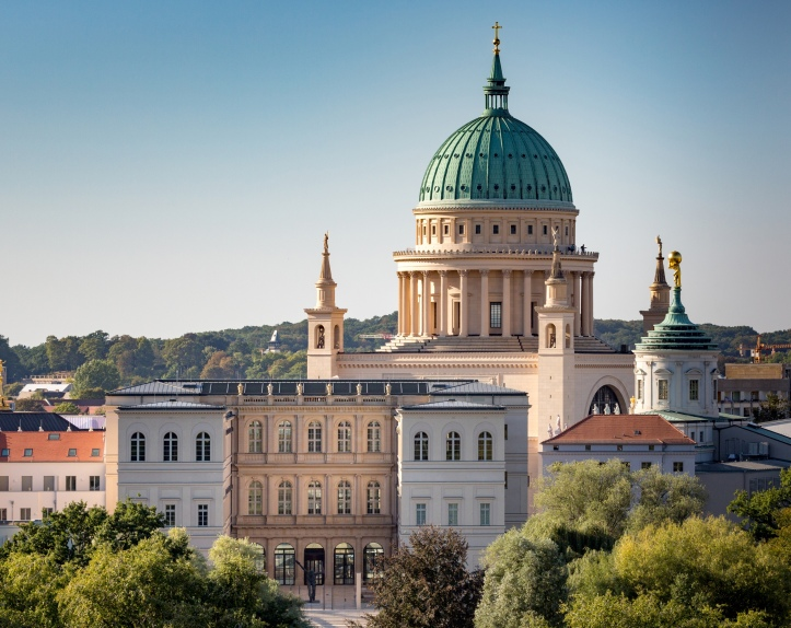 View of Potsdam's historic center with the Museum Barberini, photo: Helge Mundt, © Museum Barberini