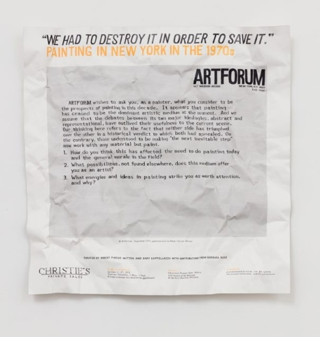 We Had To Destroy It, William Powhida, After 'After the Contemporary'; Image courtesy of Charlie James Gallery