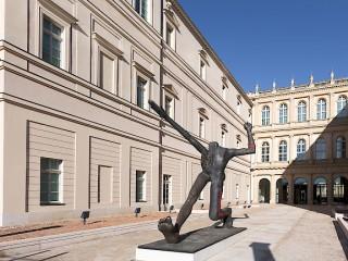 Rear view of the Museum Barberini © Museum Barberini