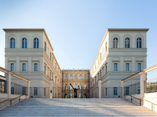 Rear view of the Museum Barberini, photo: Helge Mundt, © Museum Barberini