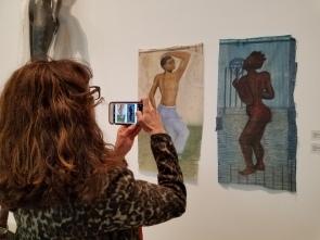 Allison Saar, It Takes a Village, Lancaster Museum of Art and History; Photo credit Kristine Schomaker