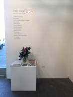 Every (ongoing) Day, Arena 1 Gallery; Photo credit Brenda Massie