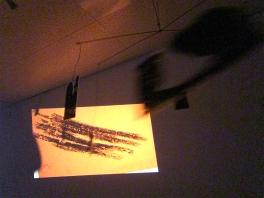 Cassie Riger, News (orange), PRISMS, Fellows of Contemporary Art; Photo Credit Patrick Quinn