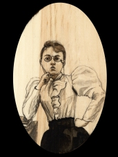 Emma Goldman by Red, the Artist, 100 Women and More, Soka University of America; Image courtesy of the artist