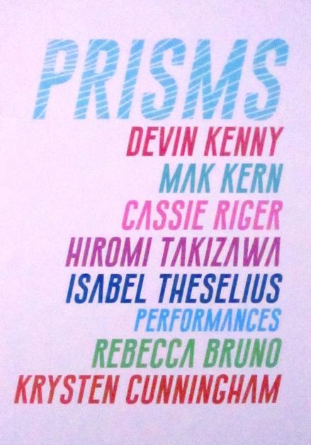 PRISMS, Fellows of Contemporary Art; Photo Credit Patrick Quinn