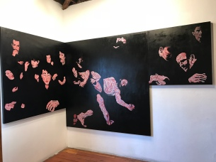 Stefano Panichi, Black, The Loft at Liz's; Photo credit Sydney Walters