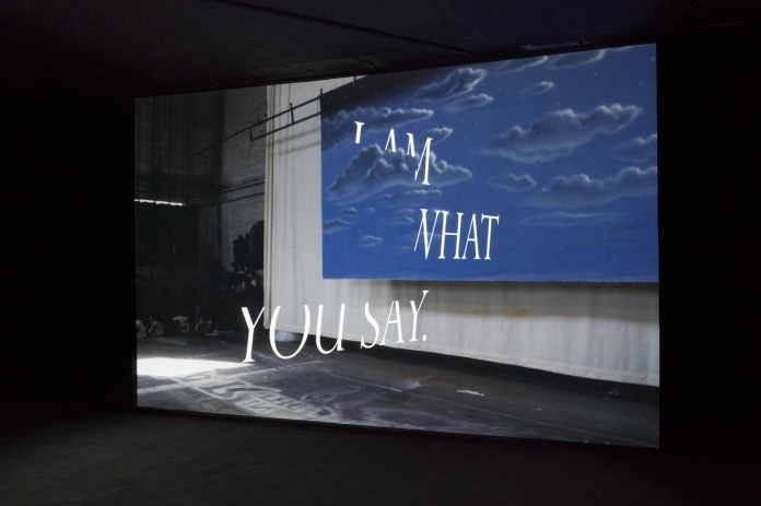 Kim Schoen, I Am What You Say, Hysterics Discourse, Young Projects; Photo courtesy of the gallery