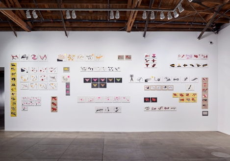 Geta Brătescu, The Leaps of Aesop, Hauser & Wirth Los Angeles; Photo courtesy Hauser & Wirth
