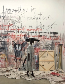 Herakut, Rental Asylum, Corey Helford Gallery, ©2018 JulieFaith